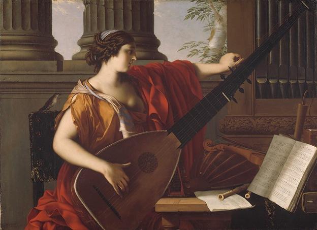Figure 1.1: Laurent de la Hyre, Allegory of Music, 1649, Metropolitan Museum of Art , New York NY USA