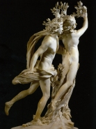 Figure 1.3: Giancarlo Bernini, Apollo and Daphne, 1617-20, Borghese Gallery, Rome, Italy