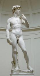 Figure 1.2: Michelangelo Buonarotti, David, 1504-7, Galleria dell'Accademia, Florence, Italy