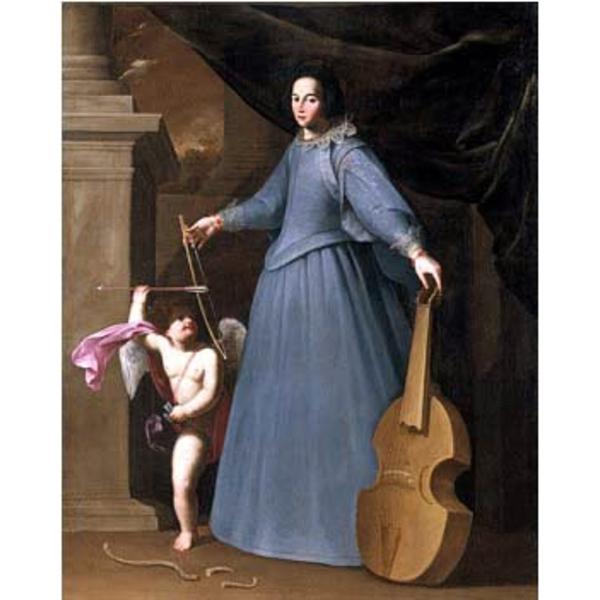 Fabio della Cornia. Portrait of Leonora Baroni