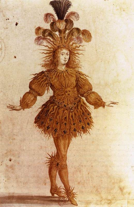 Louis XIV as Apollo, from Le Ballet de la nuit (French, ca. 1653)