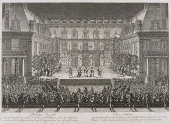 Festivity of Louis XIV 1674